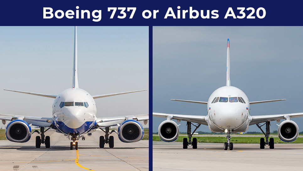 Airbus A320 or Boeing 737